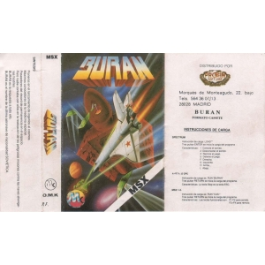 Buran (1990, MSX, OMK Software)