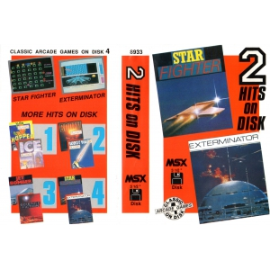 2 Hits on Disk 4 (MSX, The Bytebusters)