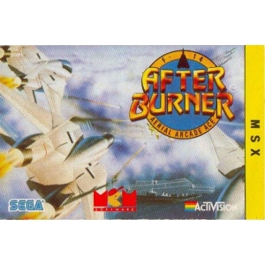 After Burner (1988, MSX, Sega)