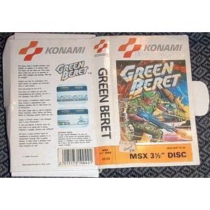 Green Beret (1986, MSX, Konami)