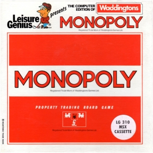 Monopoly (1986, MSX, Leisure Genius)