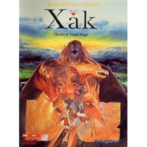 Xak: The Art of Visual Stage (1989, MSX2, Micro Cabin)