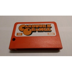 Cardwork Orange (MSX, Matra)
