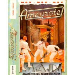 Amaurote (1987, MSX, Binary Design, Ltd)