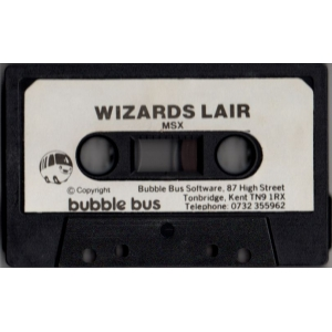 Wizard's Lair (1986, MSX, Bubble Bus)