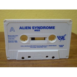 Alien Syndrome (1988, MSX, Sega)