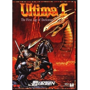 Ultima I - The First Age of Darkness (1989, MSX2, Origin Systems)