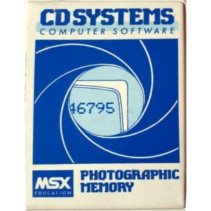 Photographic Memory (1985, MSX, CD Systems)