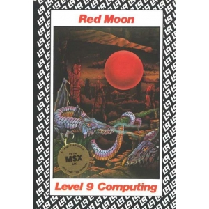 Red Moon (1985, MSX, Level 9 Computing)