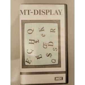 MT-Display (1985, MSX, Micro Technology)