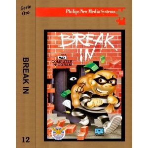Break In (1987, MSX, The Bytebusters)