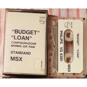 Budget Loan (MSX, Philips Italy)