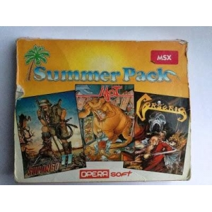 Summer Pack (1990, MSX, Opera Soft)
