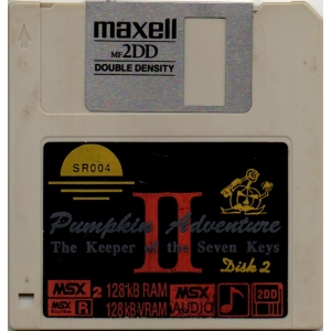 Pumpkin Adventure II - The Keeper of the Seven Keys (1993, MSX2, Umax)