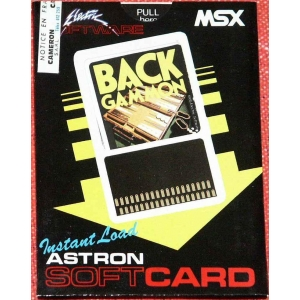 Backgammon (1984, MSX, Electric Software)