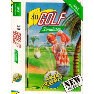 3-D Golf Simulation - High-Speed Edition (1984, MSX, T&ESOFT)