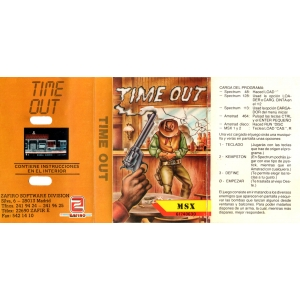 Time Out (1988, MSX, New Frontier)