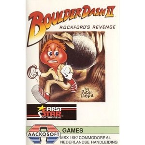 Boulder Dash II - Rockford's Revenge (1986, MSX, First Star Software)