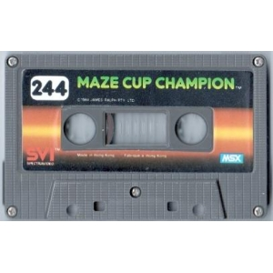 Maze Cup Champion (1984, MSX, James Ralph)
