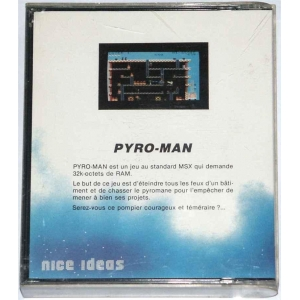 Pyro-Man (1985, MSX, Nice Ideas)
