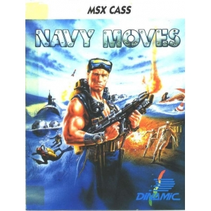 Navy Moves (1988, MSX, Dinamic)