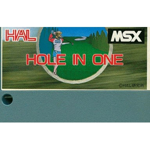 Hole In One (1984, MSX, HAL Laboratory)