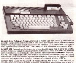 Laser (FR) - Laser MSX2