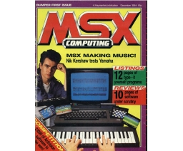 MSX Computing 1984-12 - Haymarket Publishing