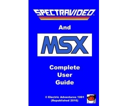 Spectravideo & MSX Complete User Guide - Electric Adventures