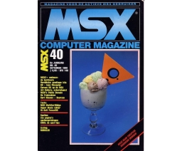 MSX Computer Magazine 40 - MBI Publications
