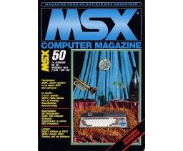 MSX Computer Magazine 50 - MBI Publications