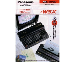 Panasonic A1WSX flyer - Panasonic