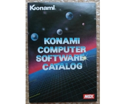 Konami Computer Software Catalog 1984-10 - Konami