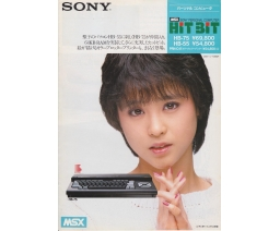 Sony Personal Computer HitBit flyer - Sony