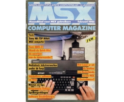 MSX Computer Magazine 01 - MBI Publications
