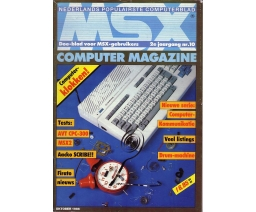 MSX Computer Magazine 10 - MBI Publications