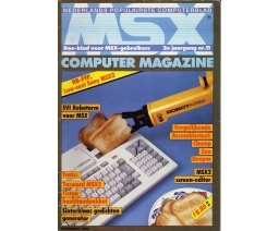 MSX Computer Magazine 11 - MBI Publications