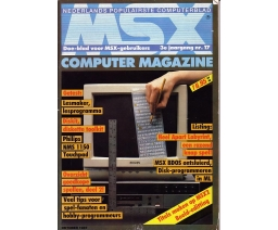 MSX Computer Magazine 17 - MBI Publications