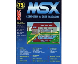 MSX Computer and Club Magazine 75 - Aktu Publications