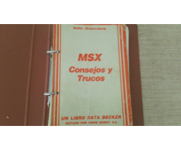 MSX Consejos y Trucos - Data Becker