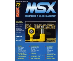 MSX Computer and Club Magazine 72 - Aktu Publications
