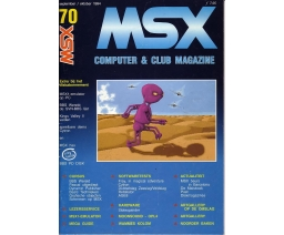 MSX Computer and Club Magazine 70 - Aktu Publications