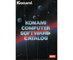 Konami Computer Software Catalog - Konami