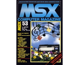MSX Computer Magazine 53 - MBI Publications