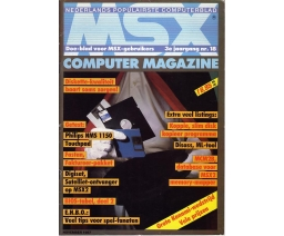 MSX Computer Magazine 18 - MBI Publications