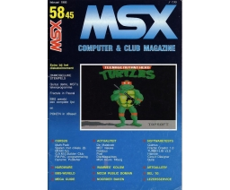 MSX Computer and Club Magazine 58/45 - Aktu Publications