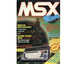 MSX User 01 - Argus Specialist Publications