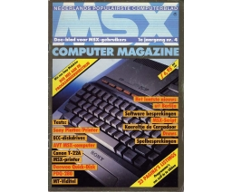 MSX Computer Magazine 04 - MBI Publications