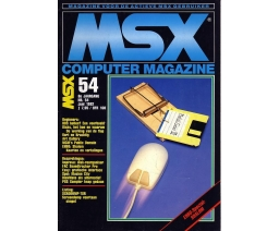 MSX Computer Magazine 54 - MBI Publications