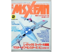 MSX・FAN 1989-02 - Tokuma Shoten Intermedia